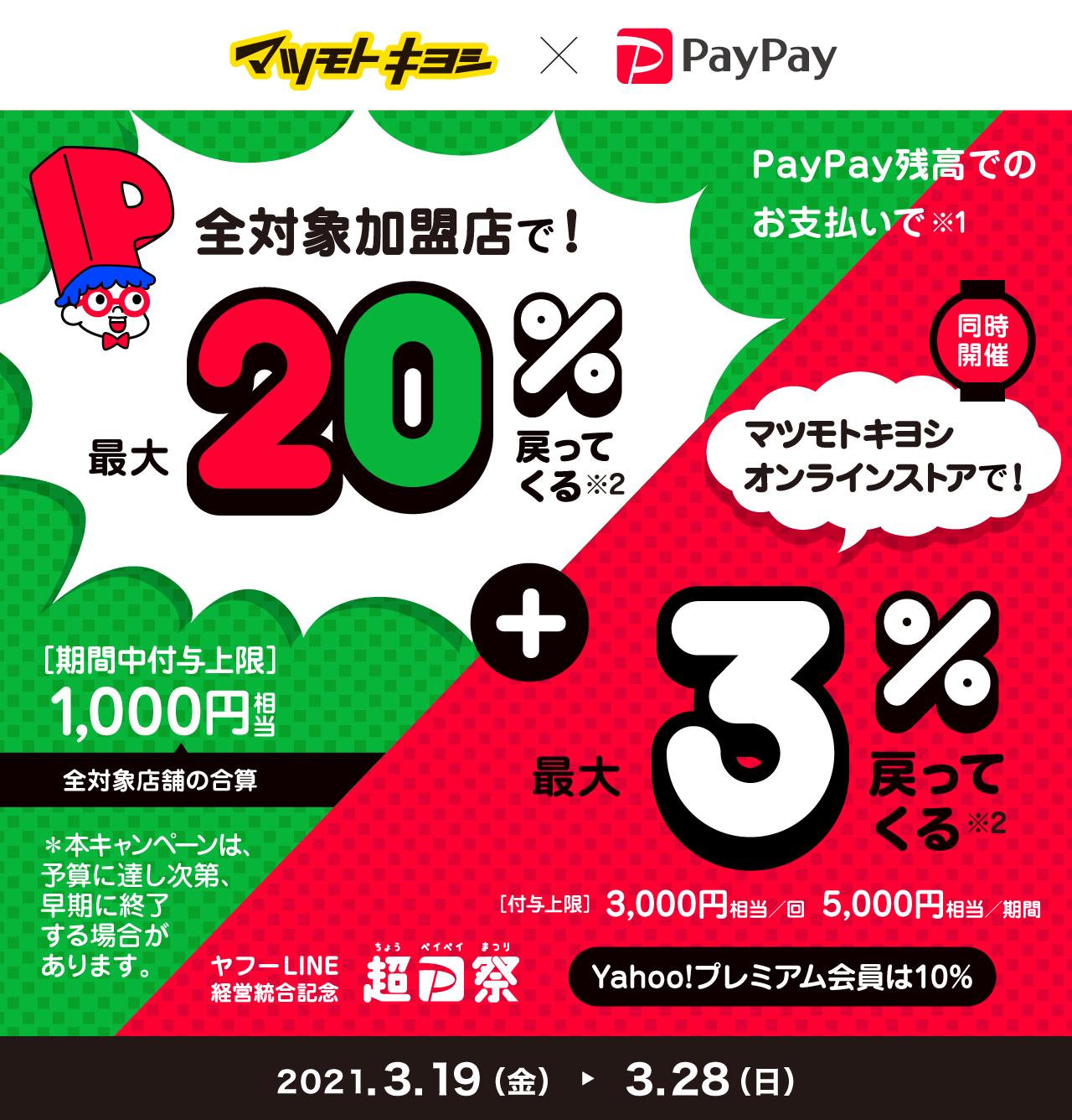 マツキヨpaypayキャンペーン