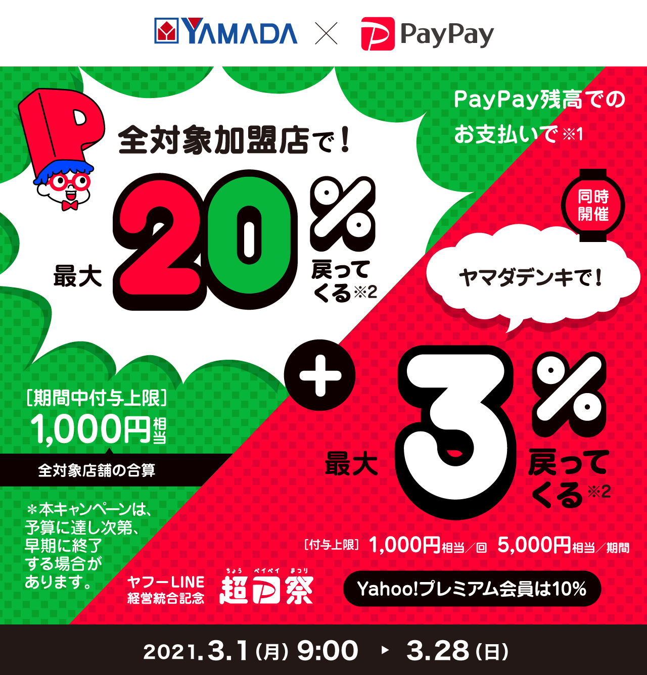 payapyヤマダ電機還元キャンペーン